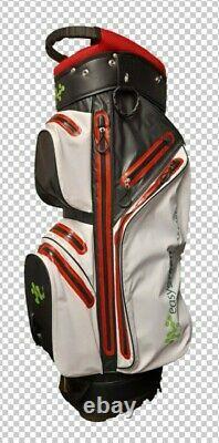 100% Waterproof 14 way 9 pockets Cart Bag Ultralightweight CLEARANCE 50% OFF RRP