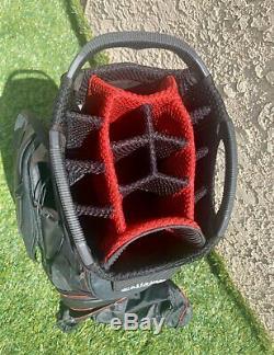2019 Callaway Golf ORG 14 Way Cart Bag Titanium/Black/Red. BRAND NEW