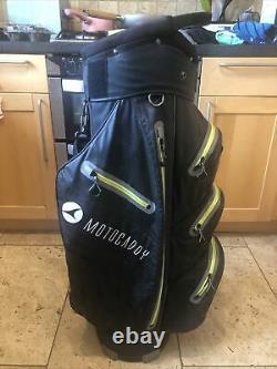 2019 Motocaddy Dry Series Waterproof Golf Cart Bag, Rainhood & Strap, decent