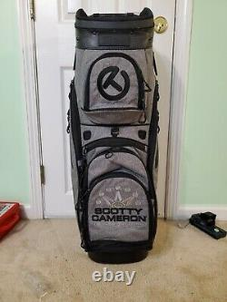 2019 Scotty Cameron Heather Gray Cart Bag Circle T CT Milled Putters