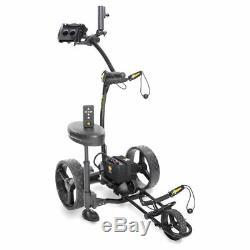 2020 Bat Caddy X4R Black Remote Control Electric Golf Bag Cart/Trolley + BONUS