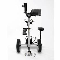 2020 Bat Caddy X8R Remote Control Electric Golf Bag Cart/Trolley + Accessories