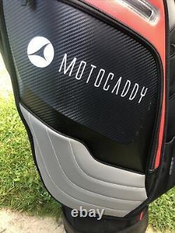 2020 Motocaddy Pro Series Golf Cart Bag, EASILOCK, Rainhood & Strap, Excellent