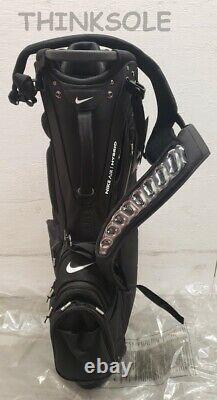 2020 Nike Air Hybrid Carry Stand Cart Golf Caddie Bag 14 Way Black Colorway New