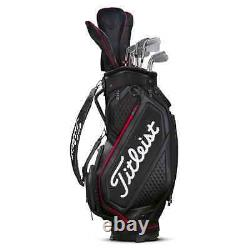 2020 Titleist Jet Black Collection Midsize Golf Cart Bag, Brand New with Tags
