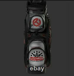 2020 Titliest Scotty Cameron Cart Bag Las Vegas Release Black Red and Grey New