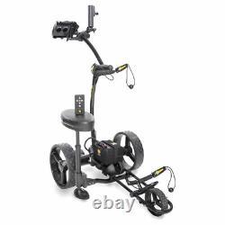 2021 BLACK Bat Caddy X4R Remote Control Electric Golf Bag Cart/Trolley + BONUS