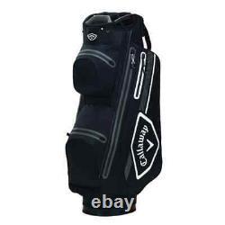 2021 Callaway Chev Dry 14 Waterproof Cart Trolley Golf Bag 14-Way Divider SALE