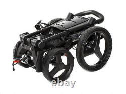 2021 Sun Mountain Golf Pathfinder PX4 Push & Pull Cart Black 4 Wheel Trolley
