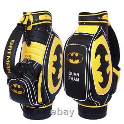 Batman Golf Bag Fully Customizable with your name, your logo, your colors