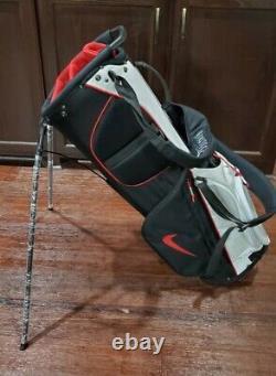 Brand New Black Gym Red 2021 Nike Air Sport Golf Cart/Carry Bag