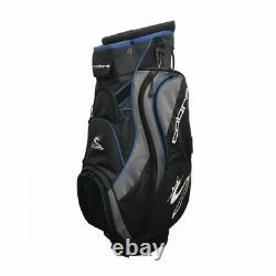 Brand New Cobra Cart Bag 14 Dividers Plus Putter Slot Black Blue Grey