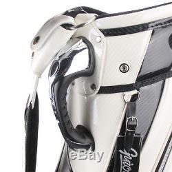 Brand New Guiote King Skull Golf staff bag caddie cart bag comes with Rainhood