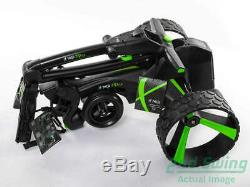 Brand New MGI ZIP X5 Electric Golf Push and Pull Cart Black SHIPS TODAY IN STOCK