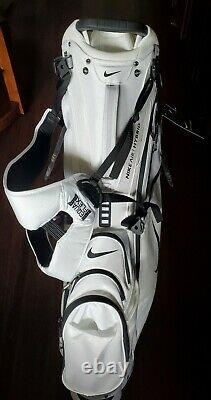 Brand New White 2020 Nike Air Hybrid Carry Stand Cart Golf Bag 14 Way Divider