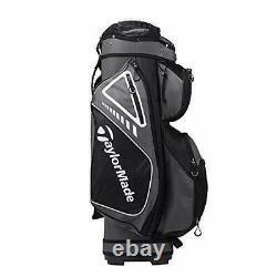 Brand new Taylormade Select plus golf cart bag Black grey white men's women's