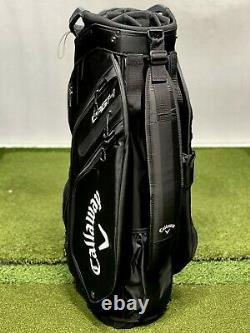 Callaway 2021 Org 14 UPS Logo Cart Golf Bag Black/White NEW #86075
