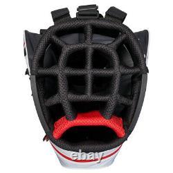 Callaway CHEV 14 DRY Waterproof Golf Cart Bag White/Black/Red NEW! 2021