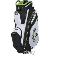 Callaway Epic ORG 14 Cart Golf Bag White/Black/Green New 2021