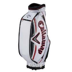 Callaway Golf Men's Cart Type Caddy Bag Sport 9 x 47 inch 3kg White 5119246