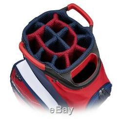 Callaway Golf Org 14 Cart Bag Red-Navy-Flag New 2020