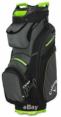 Callaway Org. 14 Cart Bag 2019 Epic Flash Golf Bag Ind. Full Length Dividers New