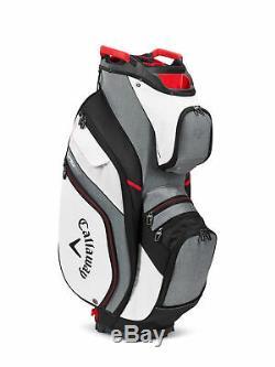 Callaway Org 14 Cart Golf Bag 2020 White/Charcoal