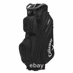 Callaway Org 14 Cart Golf Bag Black/Charcoal/White New 2021