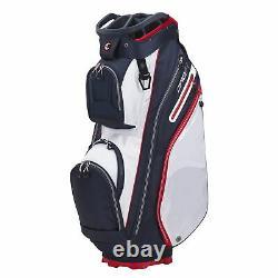 Callaway Org 14 Cart Golf Bag White/Navy/Red New 2021
