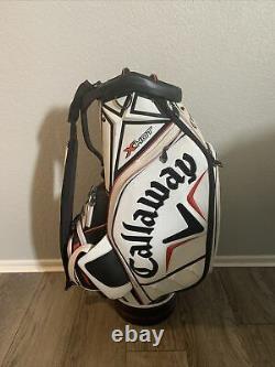 Callaway X-HOT Men's Golf 6 Way Cart Staff Tour Bag Used