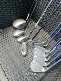 Callaway x16 Golf Clubs Full ladies Set. Taylor made rescue & Cart Bag
