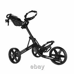 Clicgear 4.0 Push-Pull Golf Cart for Walking Black NEW IN STOCK