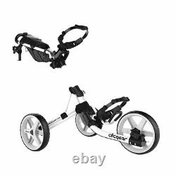 Clicgear 4.0 Push-Pull Golf Cart for Walking White NEW IN STOCK