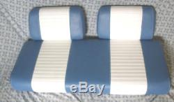 Club Car Carryall golf cart replacement seats 2000 and older