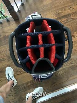 Cobra Golf 2020 Ultralight Cart Bag Black-High Risk Red-White-Navy
