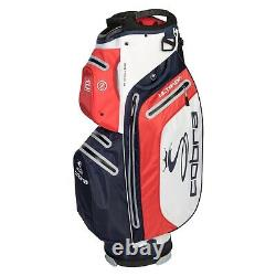 Cobra UltraDry 15-WAY Waterproof Golf Trolley/Cart Bag Peacoat Blue NEW! 2020