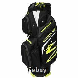 Cobra Ultralight 14-WAY Golf Cart Trolley Bag Black/Yellow NEW! 2021