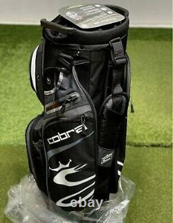 Cobra Ultralight Cart Golf Bag 909403 Black 14-Way Divider NEW #83034