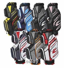 Cobra Ultralight Cart Golf Bag Mens New 2020 14 Way Top Choose Color