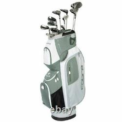 Cobra Womens Fly-XL Complete Golf Set Cart Bag Graphite Shaft Right Hand Olive
