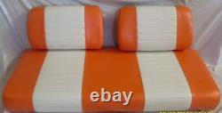 Completed Club Car golf cart seat set 2000 and older (See color chart)