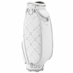 DUNLOP Golf Ladies Cart Caddy Bag XXIO 8.5 x 46 inch 3kg White GGC-X113W