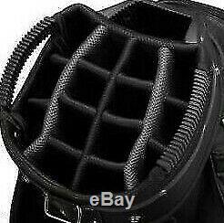 Demo Taylormade 2019 select plus cart bag Grey Black White 15 dividers #G499