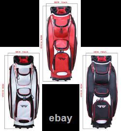 EG Eagole 14 Way Full Length Divider, 10 Pockets (1 beverage cool)Golf Cart Bag