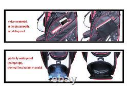 EG Eagole Super light 7 Lbs, 14 way-Full Length Divider, 10 Pocket Golf Cart Bag