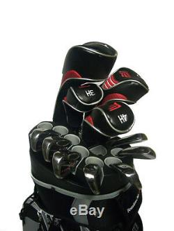 Founders Club Premium Cart Bag with 14 Way Organizer Top Charcoal