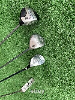 Full Set Of Golf Clubs Callaway Irons Callaway Cart Bag Callaway Driver