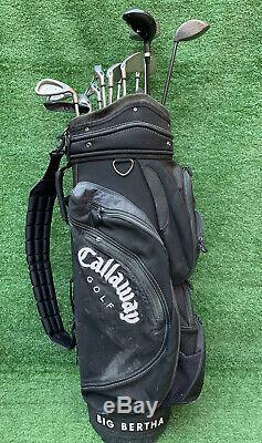 Full Set Of Golf Clubs Callaway Irons Callaway Drivers Callaway Cart Bag