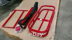 Golf Bag rear hitch holder 2 bag carrier for your golf cart