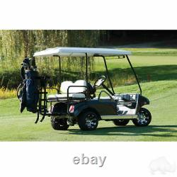 Golf Cart Golf Bag Attachment For Carts With Rear Seats & Grab Bars